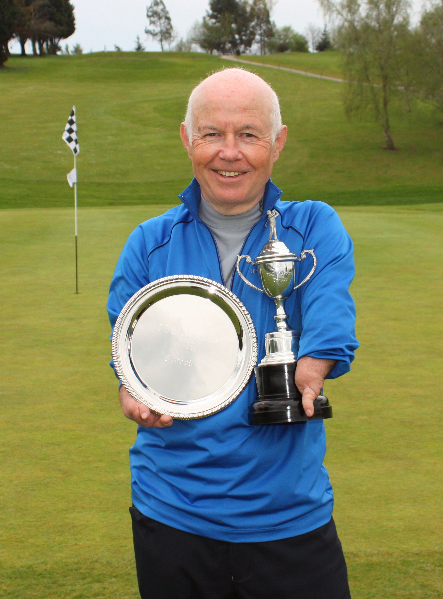 Disabled golfer wins TSG Masters at Warley Park, Essex - Richard Saunders