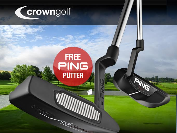 Free Scottsdale Putter with Crown Golf