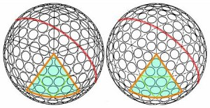 Golf Ball Dimples - designs