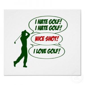 My Golf Obsession