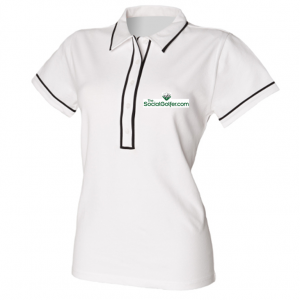 The Social Golfer Polo Shirt - Ladies