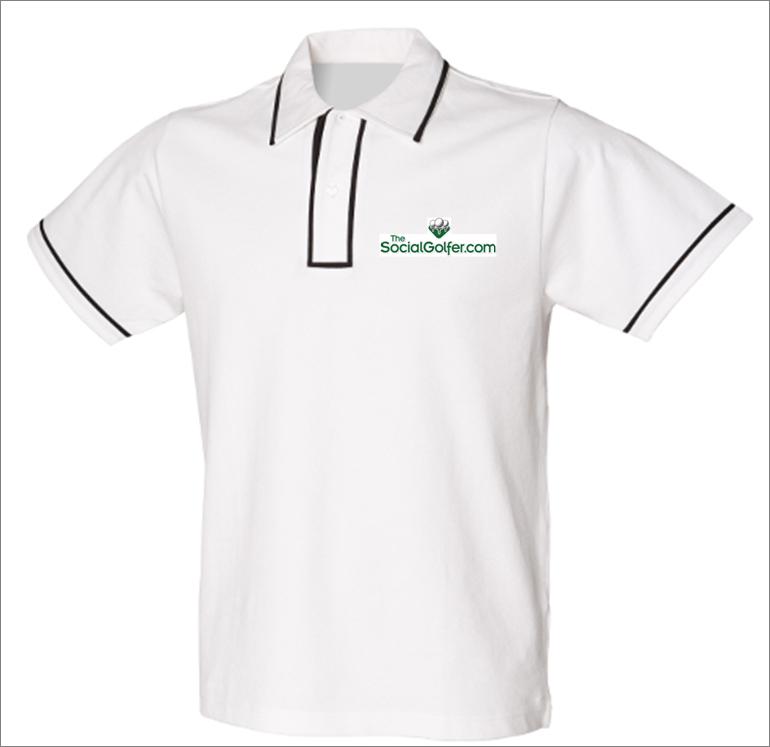 The Social Golfer Polo Shirt - Mens