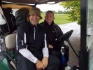 Sharing a Golf Buggy