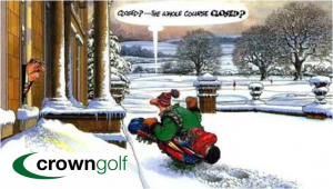 Crown Golf Winter Golf Tips