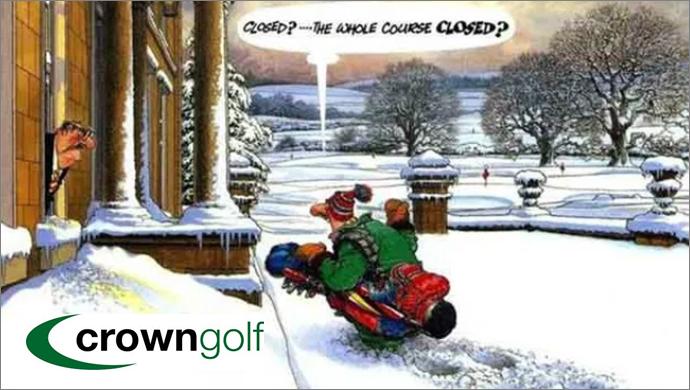 Crown Golf Winter Golf Tips