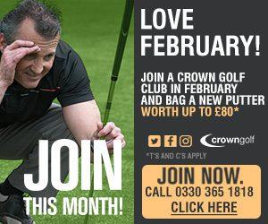 Crown Golf - Love Golf This February