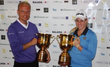 Stefan Morkholt (Den), and Caroline Larsson (Swe
