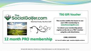 TSG Gift voucher