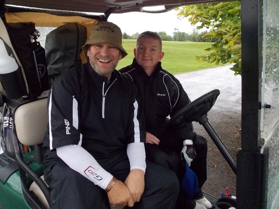 Sharing a Golf Buggy