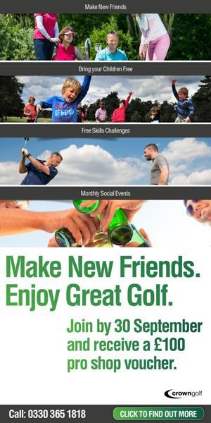 Crown Golf Club Membership