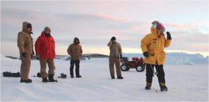 Golfing in Antarctica