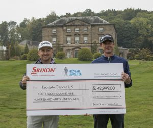 Srixon and Prostate Cancer and Graeme McDowell