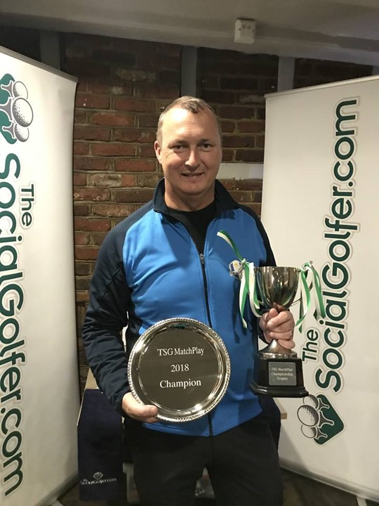 TSG Matchplay Champion 2018 - Dave Short