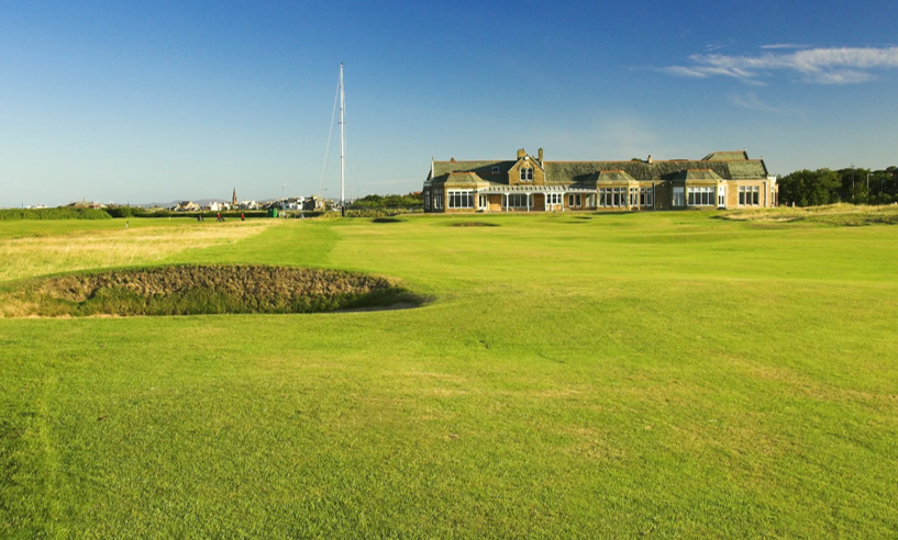 Royal Troon - The Clubhouse - Scottish golf- The Social Golfer