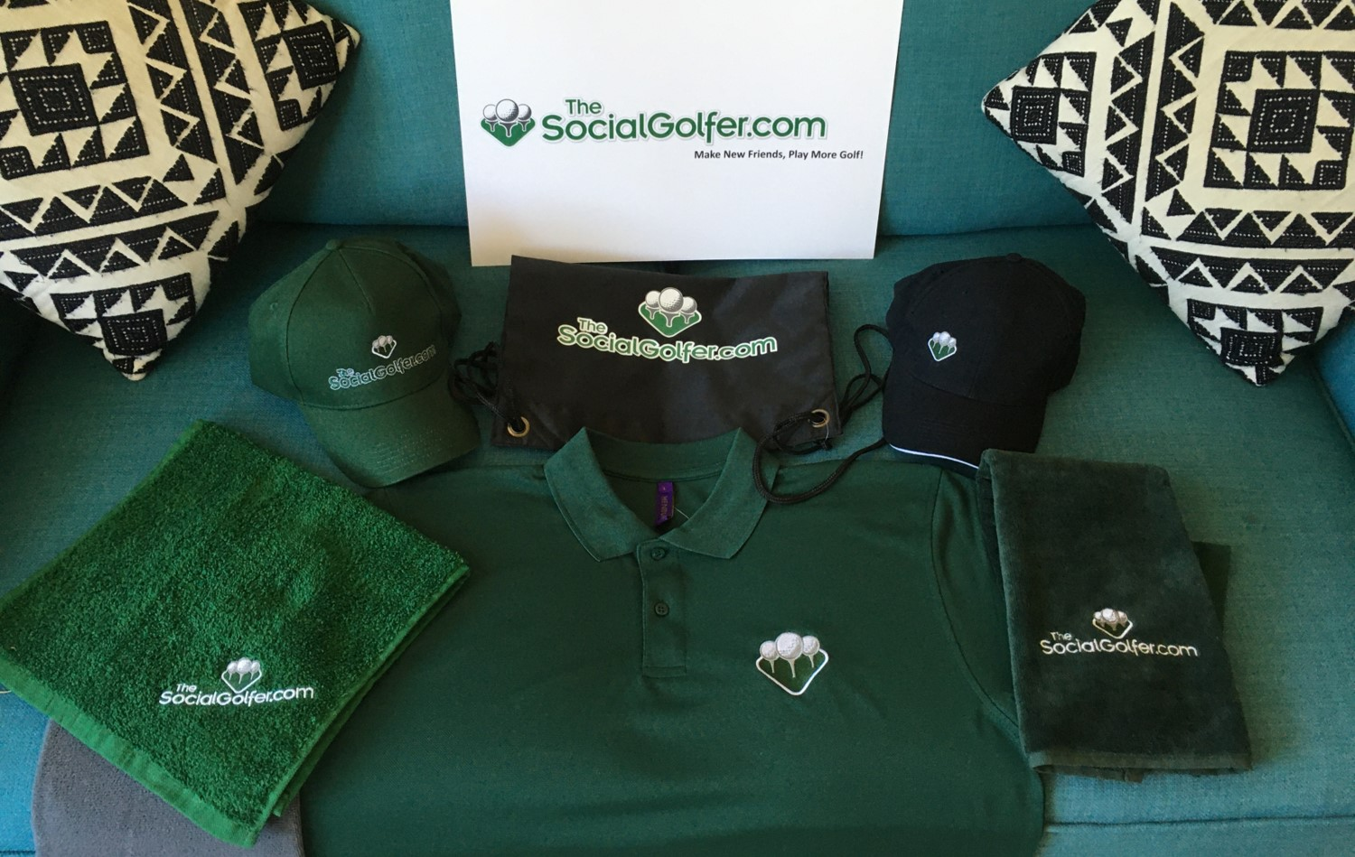 Celtic Manor 2010 competition - TheSocialGolfer.com Merchandise 2020