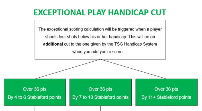 Exceptional Play Handicap Calculation - The Social Golfer - Golf Handicaps