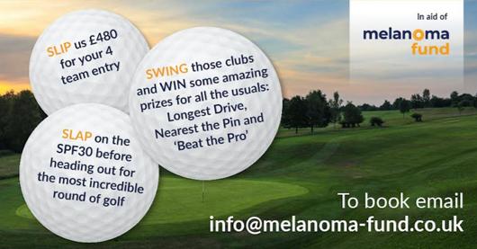 Melanoma Fund Charity Golf Day at Mannings Heath 15th September 2021 v
