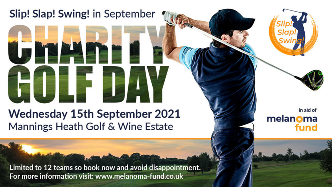 Skin Cancer Charity Golf Day - Melonoma Fund Charity Golf Day at Mannings Heath 15th September 2021